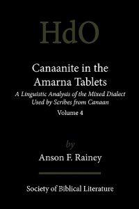 Canaanite in the Amarna Tablets