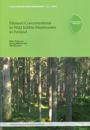 Element Concentrations in Wild Edible Mmushrooms in Finland