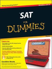 SAT for Dummies [With CDROM]