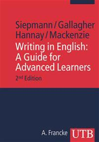 Writing in English: A Guide for Advanced Learners