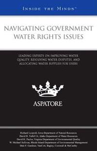 Navigating Government Water Rights Issues