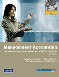 MyAccountingLab Access Code Card for Management Accounting: International Edition