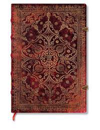 Carmine Grande Unlined Journal