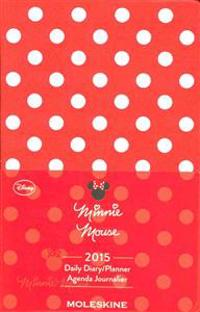 Moleskine Minnie Mouse Red Daily Diary / Planner Pocket 2015