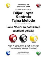 Cue Ball Control Cheat Sheets (Croatian): Shortcuts to Perfect Position and Shape