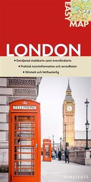 London EasyMap stadskarta : 1:15750