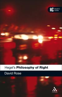 "Hegel's ""Philosophy of Right"""