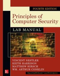 Principles of Computer Security