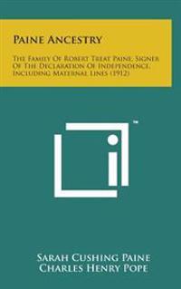 Robert Treat Paine ancestry