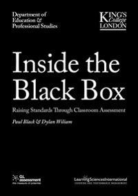 Inside the Black Box Raising Standards Through Classroom Assessment