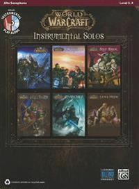 World of Warcraft Instrumental Solos: Alto Sax, Book & CD
