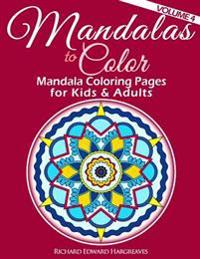Mandalas to Color - Mandala Coloring Pages for Kids & Adults