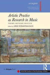 Artistic Practice As Research in Music