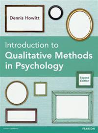 Introduction to Qualitative Methods in Psychology