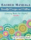 Sacred Mandala: Beautiful Designs and Patterns (Coloring Books for Adults)
