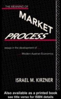 Meaning of the Market Process