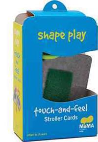 Shape Play Touch-And-Feel Stroller Cards