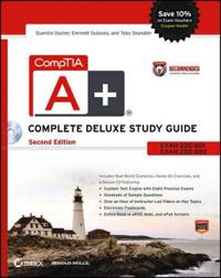 CompTIA A+ Complete Deluxe Study Guide: Exams 220-801 and 220-802 [With CDROM]