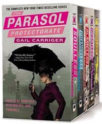 The Parasol Protectorate Boxed Set: Soulless/Changeless/Blameless/Heartless/Timeless