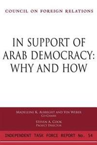 In Support Of Arab Democracy