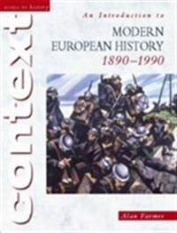 An Introduction to Modern European History, 1890 - 1990