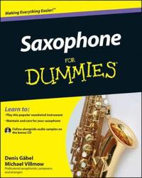 Saxophone for Dummies [With CDROM]