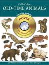 Full-Color Old-Time Animals CD-Rom