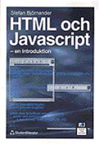 HTML och Javascript: en introduktion