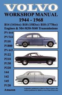 volvo 1944 1968 workshop manual pv444  pv544  p110  p1800 Volvo PV 544 B18 1944 Volvo