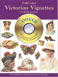 Victorian Vignettes CD Rom and Book