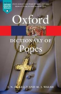 The Oxford Dictionary of Popes