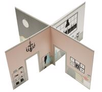 The Tiny dollhouse - A perfect home for picky dolls