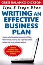 Tips & Traps for Writing an Effective Business Plan