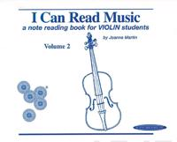 I Can Read Music, Vol 2 a Note Reading Book for Violin Students