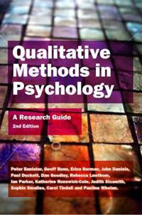 Qualitative Methods in Psychology