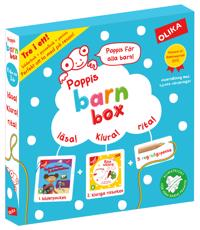 Poppis Barnbox (turkos)
