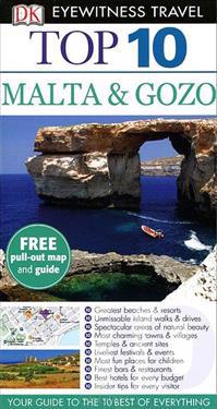 DK Eyewitness Top 10 Travel Guide: Malta & Gozo