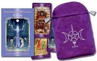 Sensual Wicca Tarot/Tarot de La Sensualidad Wicca [With Embroidered Satin Bag]