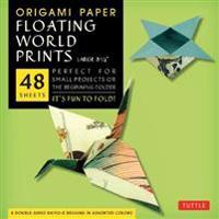 Origami Paper Floating World Prints, Large 8 1/4