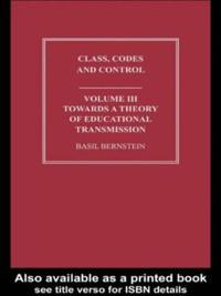 Class, Codes and Control