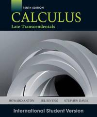 Calculus, 10th Edition International Student Version