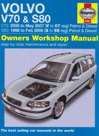 Volvo V70 and S80 Petrol and Diesel Service and Repair Manual
