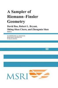 A Sampler of Riemann-finsler Geometry