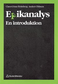 Epikanalys : - en introduktion