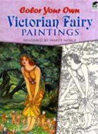 Color Your Own Victorian Fairy Paintings