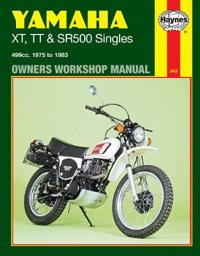 Yamaha XT, Tt, and Sr 500 Singles Owners Workshop Manual, No. 342