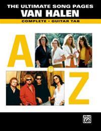 The Ultimate Song Pages Van Halen -- A to Z: Compete