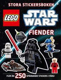 Lego star wars stora stickersboken : fiender