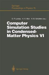 Computer Simulation Studies in Condensed-matter Physics