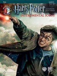 Harry Potter Instrumental Solos: Flute, Book & CD